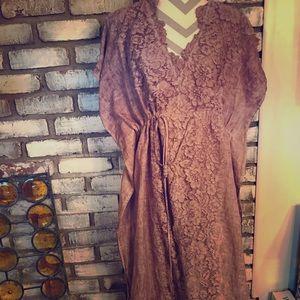 Lavender Soft Surroundings kimono